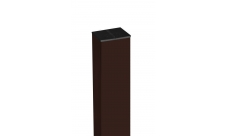 Столб 62х55х3000мм коричневый RAL 8017