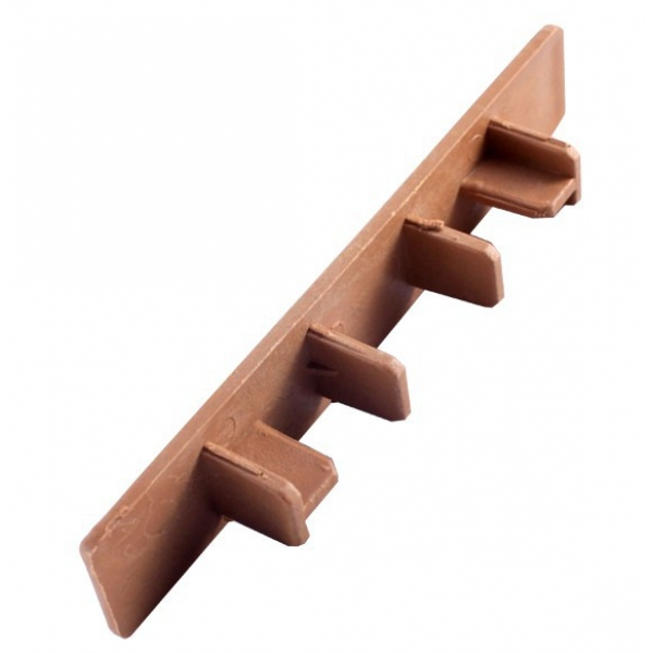 Торцевая заглушка WENGE ( коричневый) для серий Natur, MIX