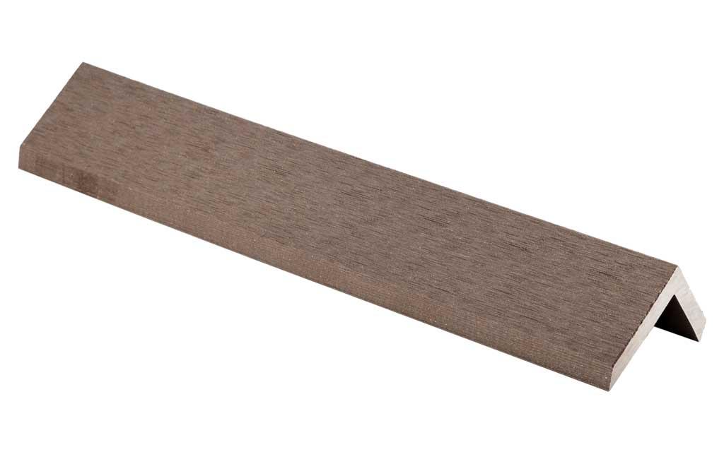 Угловой профиль к доске  ROWAN (рябина),2000*50-38*8мм