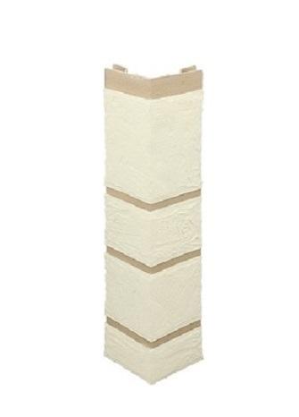 Наружный угол Камень 0,47х0,11м (Белый,)