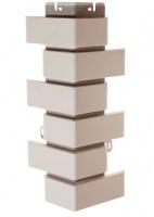 Наружный угол Кирпич клинкерный 0,45х0,16м (Белый,)