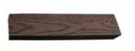 Торцевая доска WENGE (коричневая),2000 х 50 х 10 мм для серий Natur, MIX, Vintage, Grand