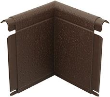 Угол откоса коричневый, 0,21 х 0,21м