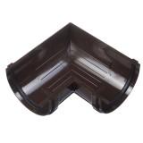 Угловой элемент 90 гр. (шоколад)