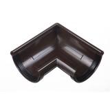 LUX Угловой элемент 90 гр. Шоколад