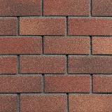ТЕХНОНИКОЛЬ HAUBERK фасадная плитка, Терракотовый кирпич 2м2/уп
