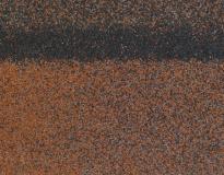 ТЕХНОНИКОЛЬ Гибкая черепица, коньково-карнизная, Америка 5м2/уп