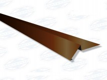Торцевая планка (ветровая) 2м RAL 8017