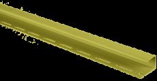 """Планка """"J - trim"""" Оливковая Т-15 - 3,66м"""