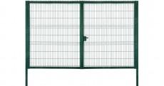Ворота Medium 1,53х3,5 RAL 6005 Lock