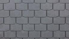 Гибкая черепица Döcke PIE SIMPLE/ КРОНА/ Серый