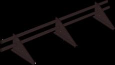 Снегозадержатель трубчатый Optima дл. 3000 мм (8017)