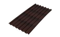 Ондулин Черепица коричневый