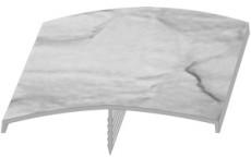 Универсальный бордюр (Белый)