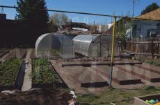 Грядка Урожай-Оптима высотой 150 мм RAL 8017 1х2м
