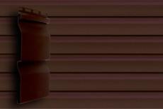 Акриловый сайдинг GL Amerika D4 (slim) Темный дуб (22)