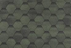 ТЕХНОНИКОЛЬ Гибкая черепица, Финская, Соната Зеленый 3м2/уп