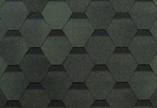 ТЕХНОНИКОЛЬ Гибкая черепица, Оптима, Соната Зеленый 3м2/уп