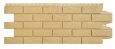 Фасадные панели Grand Line состаренный кирпич стандарт песочная