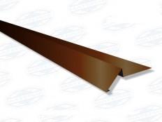 Торцевая планка (ветровая) RAL 8017