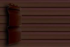 Акриловый сайдинг GL Amerika D4 (slim) Темный дуб