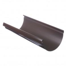 LUX Желоб водосточный Шоколад, D140мм, 3м