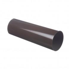 LUX Труба водосточная Шоколад, D100мм, 3м