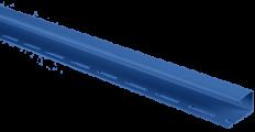 """Планка """"J - trim"""" Синяя Т-15 - 3,66м"""