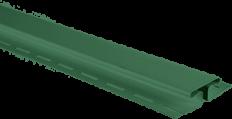 """Планка """"соединительная"""" Зелёная Т-18  -  3,00м."""
